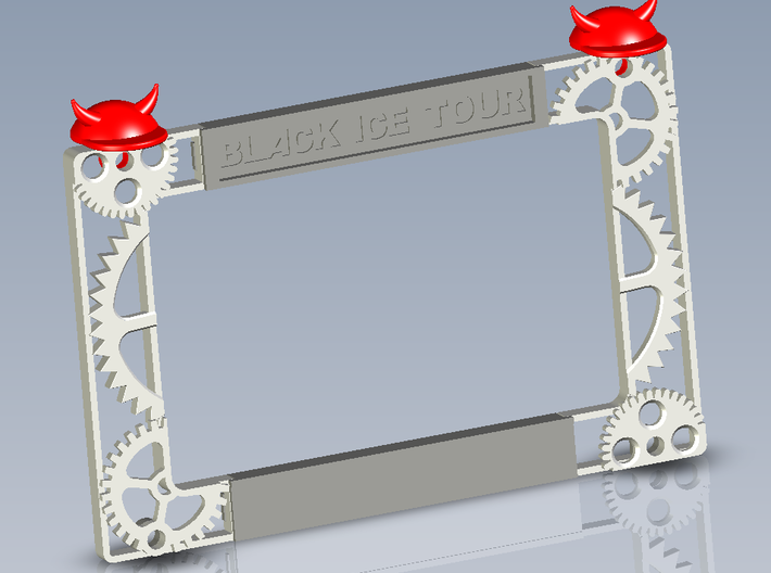 AC/DC Stage Prt#4 Stage Bottom 3d printed