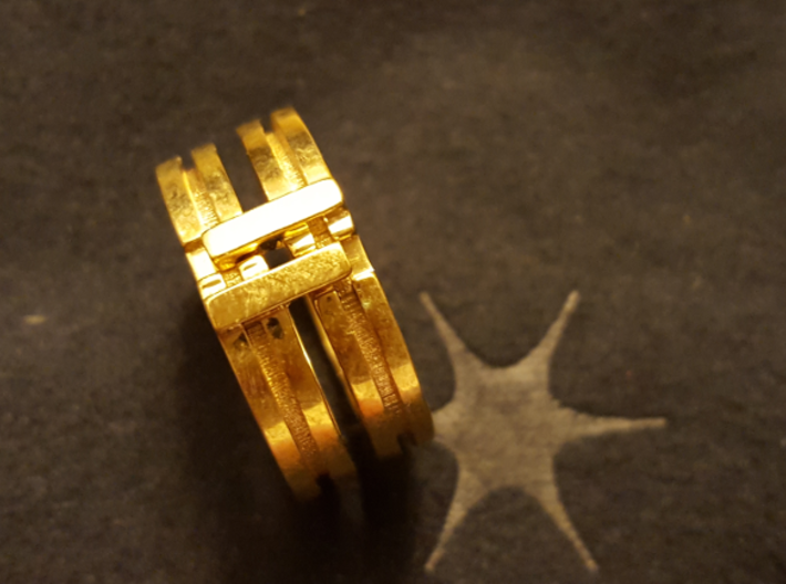 Stackable Ring Size 7 3d printed How it works