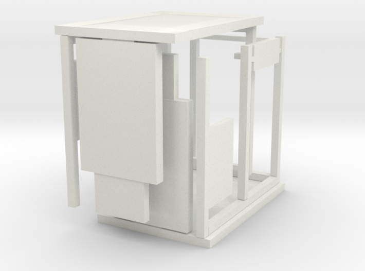 Bus Shelter type 3, 1:50th scale 3d printed