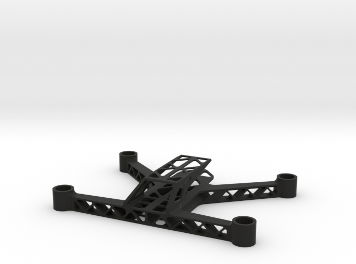 Trussed 123mm Micro FPV Quadcopter Frame 3d printed