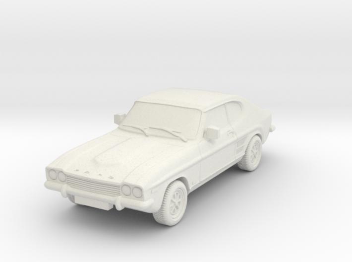 1:87 Ford-capri-mk-1-3l-hollow 3d printed