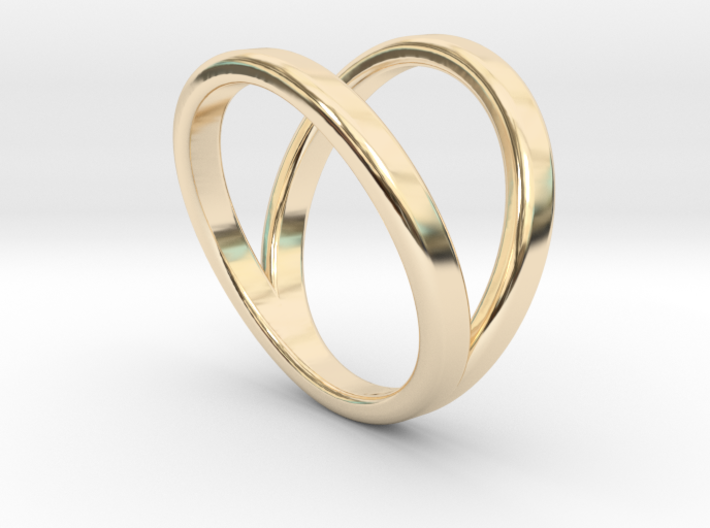 Split Ring Size 5 3d printed