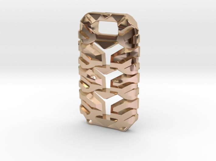 Knuckle Pendant 3d printed