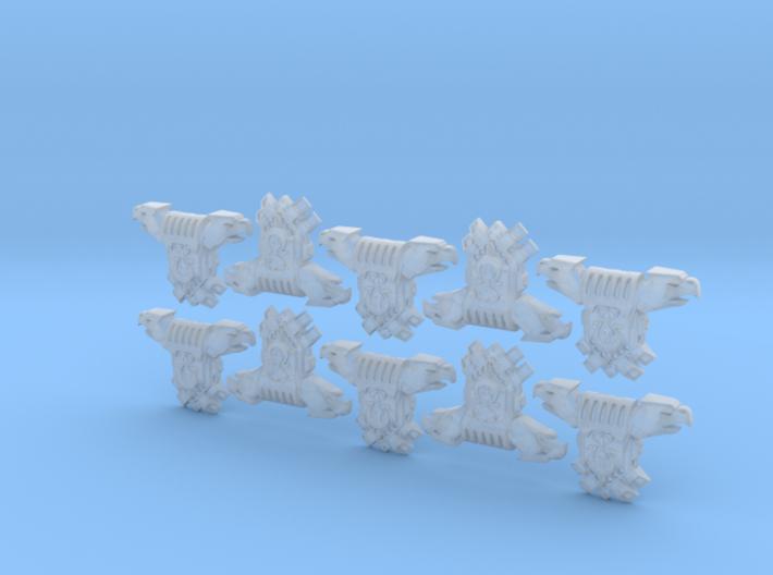 10x Ultra Legion - Gen4:PAC:Eagle 3d printed