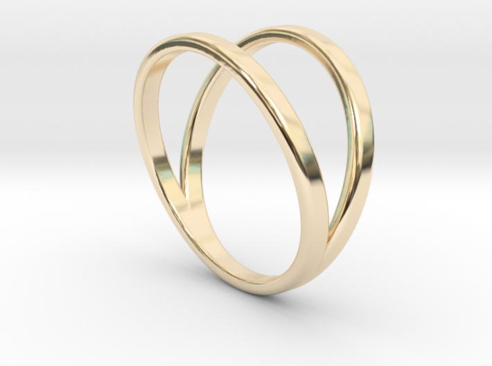 Split Ring Size 12 3d printed