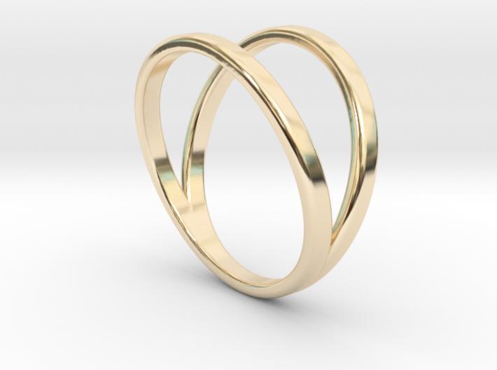 Split Ring Size 12 3d printed