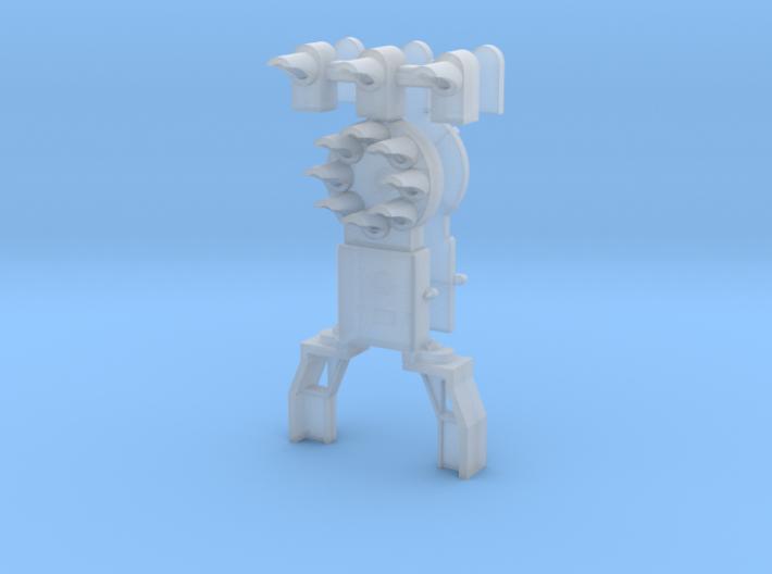 Dwarf B&O CPL-UpperSpdLamps-GndBrkt(1) - HO 87:1 S 3d printed