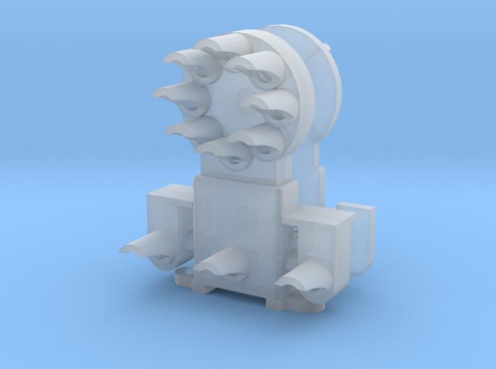 Dwarf B&O CPL-LowerSpdLamps-GndBrkt(1) - HO 87:1 S 3d printed