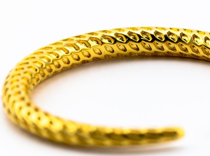 DRAGON Solid, Bracelet. Pure, Strong. 3d printed