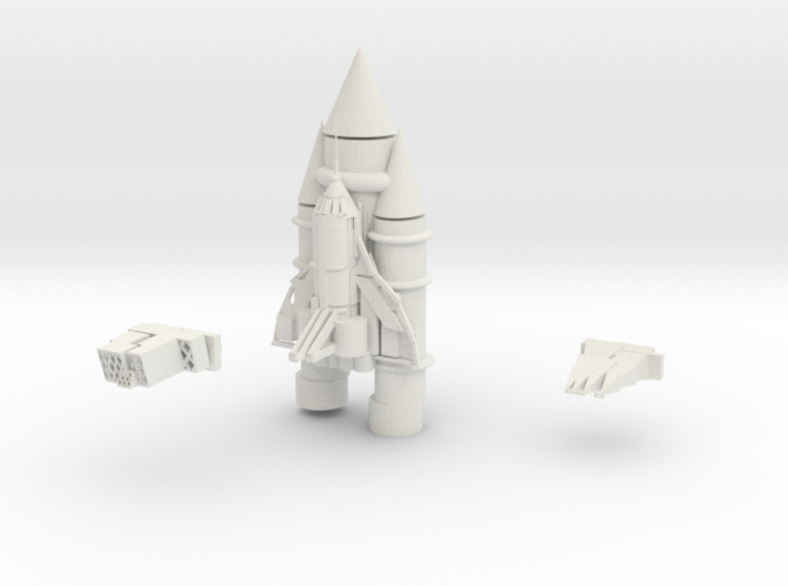 Space Shuttle 3d printed