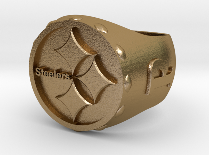 Steelers Ring size 12 3d printed