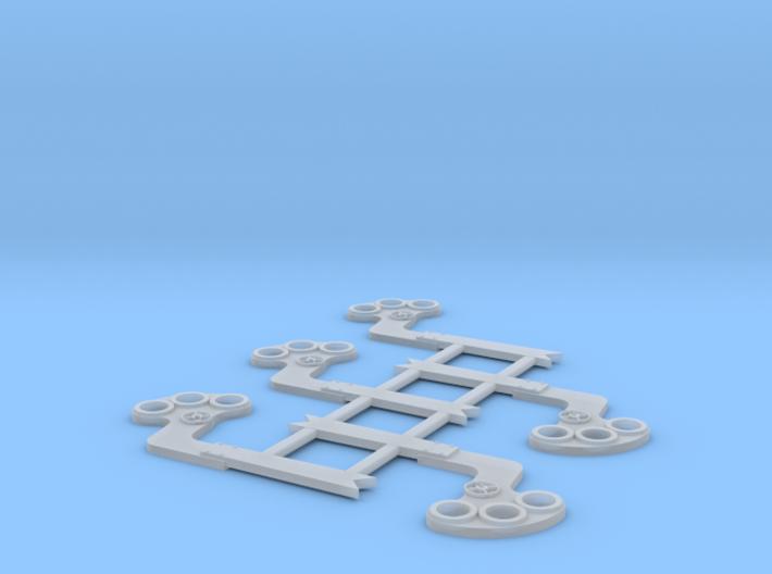 "HO Scale GRS B Semaphore Fishtail 42"" 3d printed"