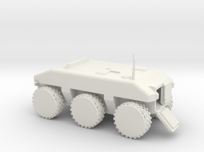 Police SWAT Armored Vehicle 3d printed