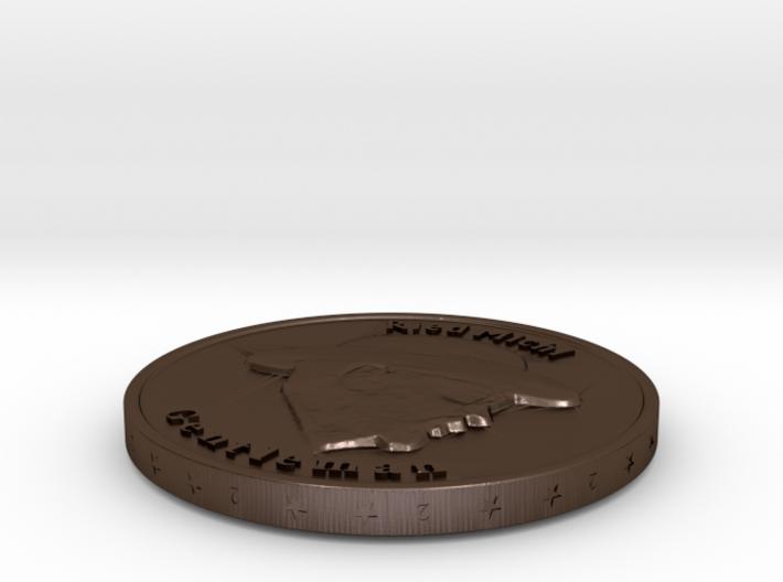 RiedMichl-Coin 3d printed