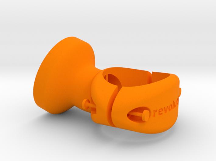 25.4 mm Garmin Varia/Edge Mount 3d printed