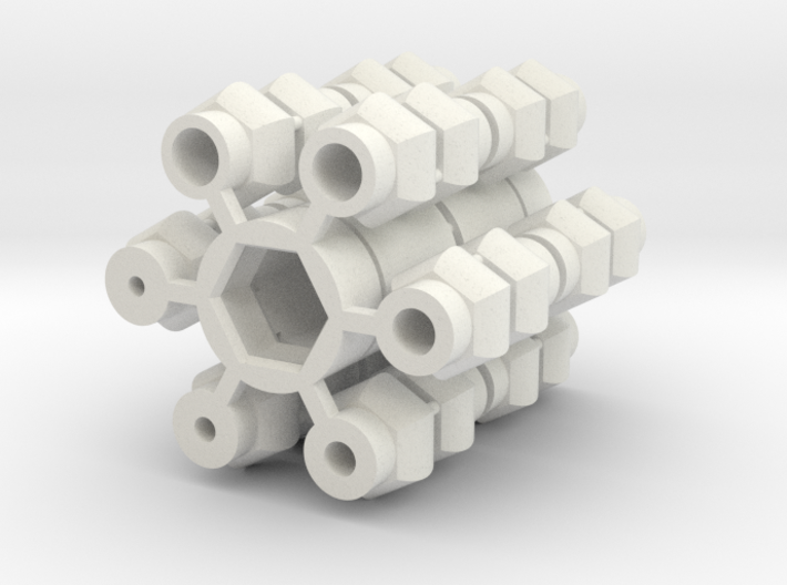 Universal Joint - Short version 2x 3d printed