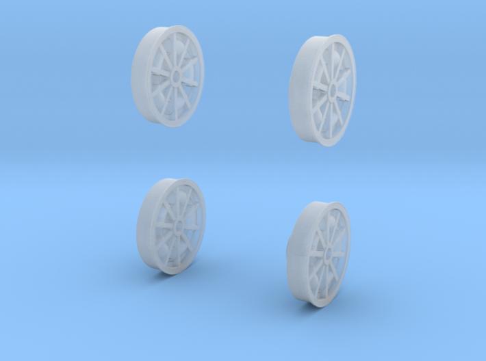 67 Turbine Wheel Faces 1-20 3d printed