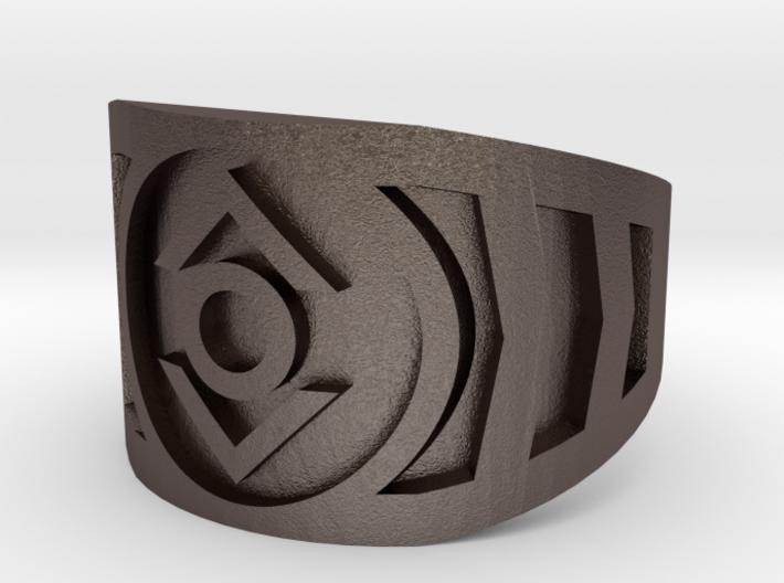 Indigo (Band Size 8 1/2) 3d printed