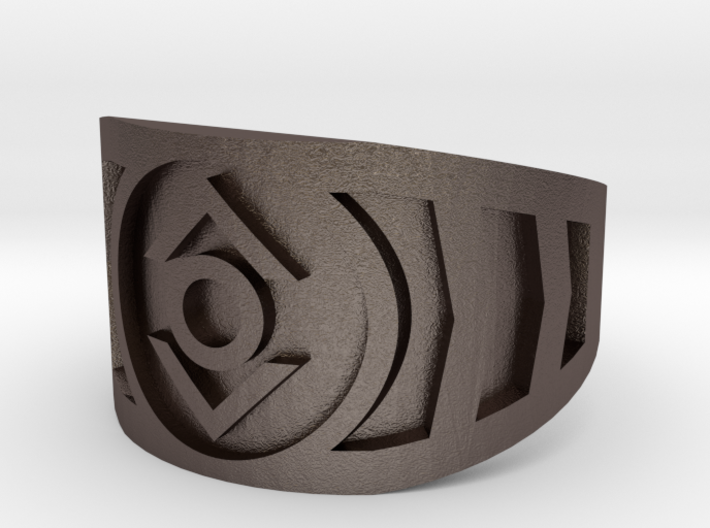 Indigo (Band Size 10 1/2) 3d printed