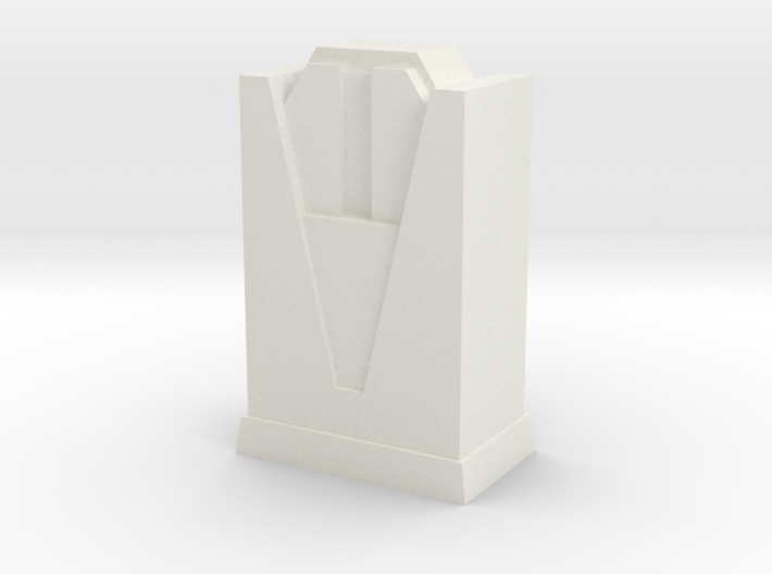 Custom Monopoly Hotel Version 4 (3cm tall) 3d printed