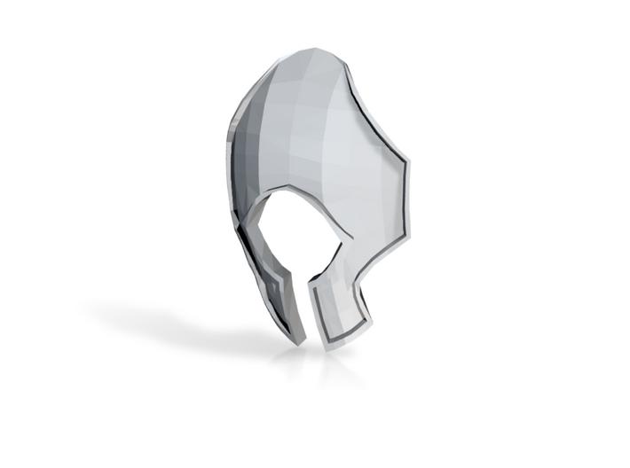Blacklance Knight Scutarius 'Warmonger' Helmet 3d printed
