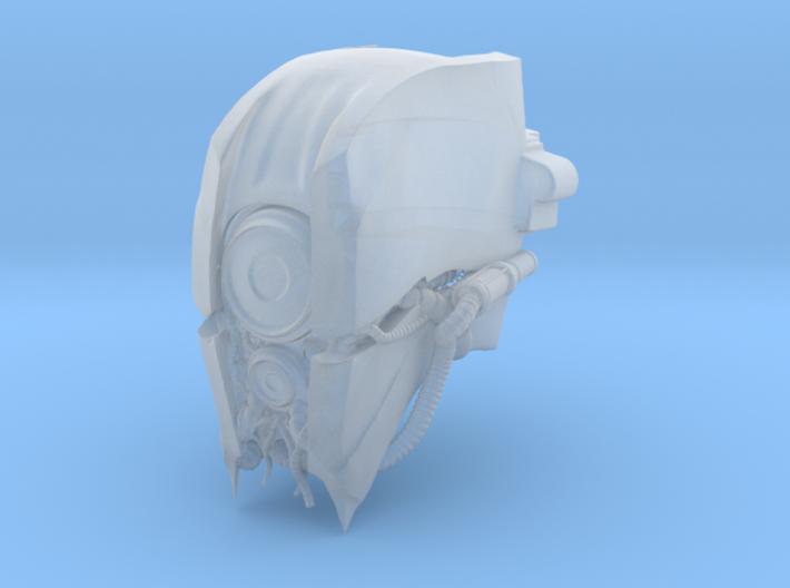 Blacklance Knight Trucius Head 3d printed