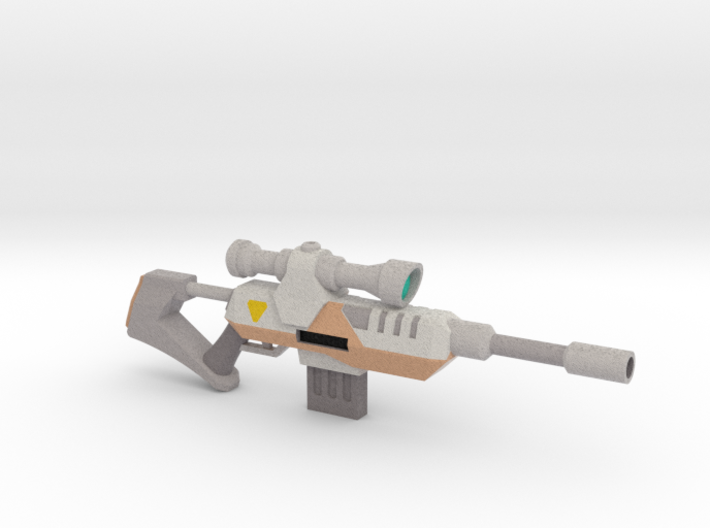 Plasmoid Sniper Rifle 3d printed