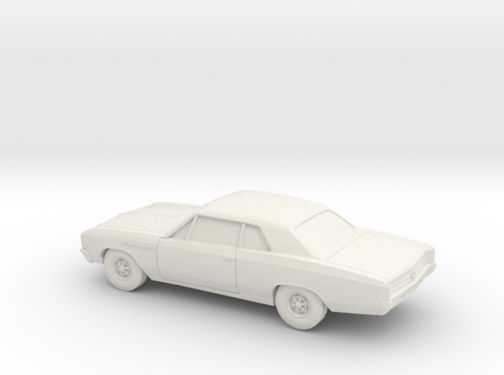 1/87 1964-67 Buick Skylark Coupe 3d printed