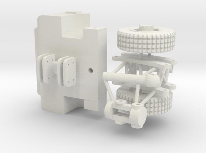 Gapo Crane tractor 3d printed