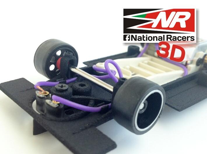 3D chassis - SRC Ferrari 312 PB V1.0 (SW) 3d printed Front axel