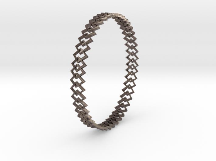 Square Bracelet 3d printed