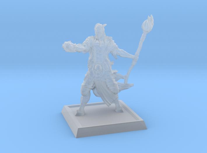 Tiefling-Half Demon 3d printed