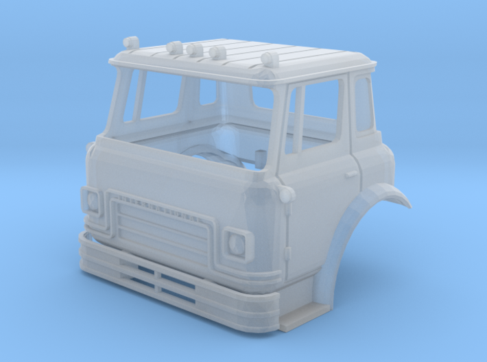 TT-Scale (1/120) International Cargostar Cab 3d printed