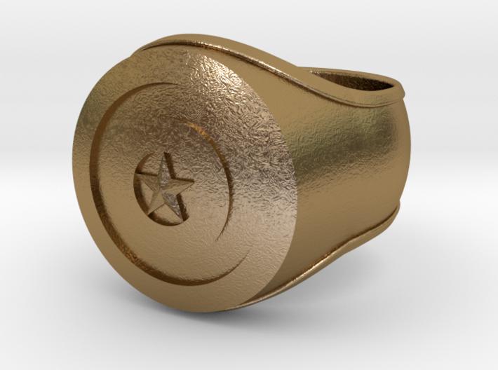 Captain America Ring 24mm 3d printed