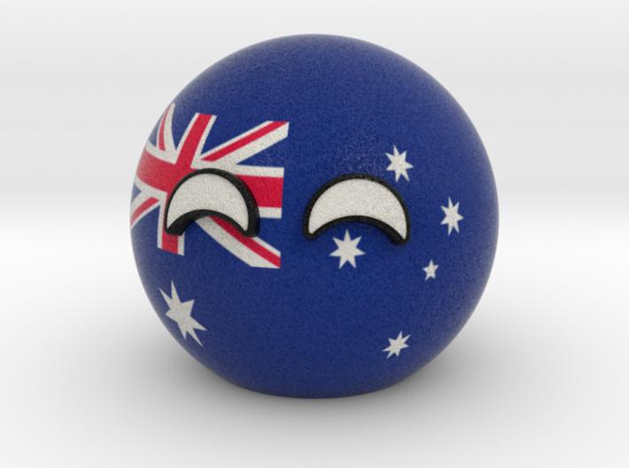Countryball Australia 3d printed