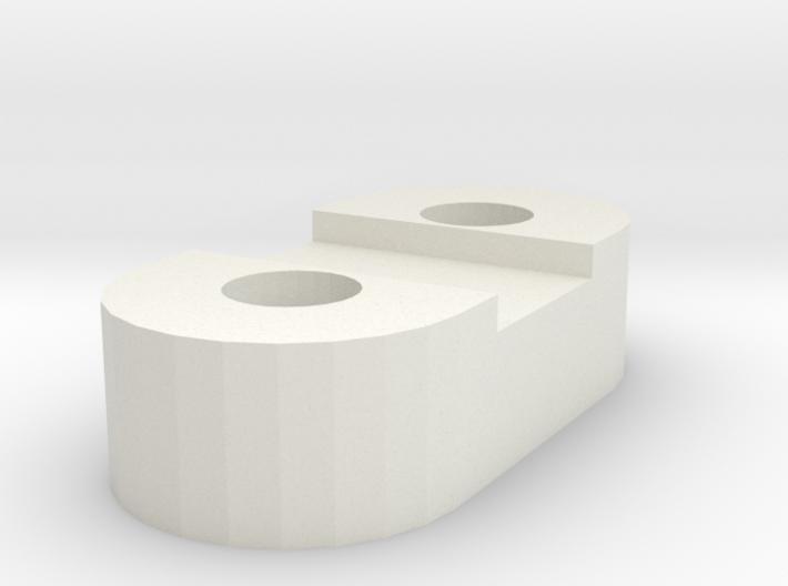 Much4 Y Belt Bridle 3d printed