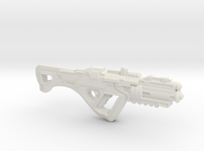1:6th Scale 'Falcor' Assault Rifle 132mm Length 3d printed
