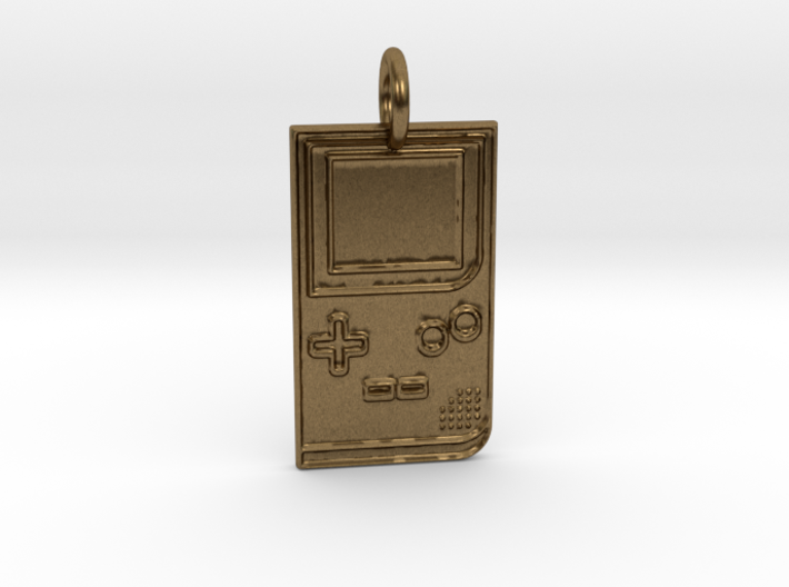 Game Boy 1989 Pendant 3d printed