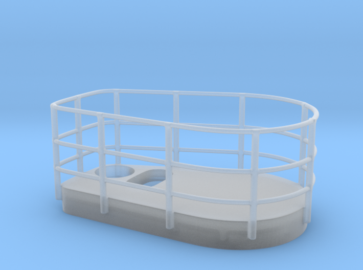1/48 USN 24'' Searchlight Platform 3d printed