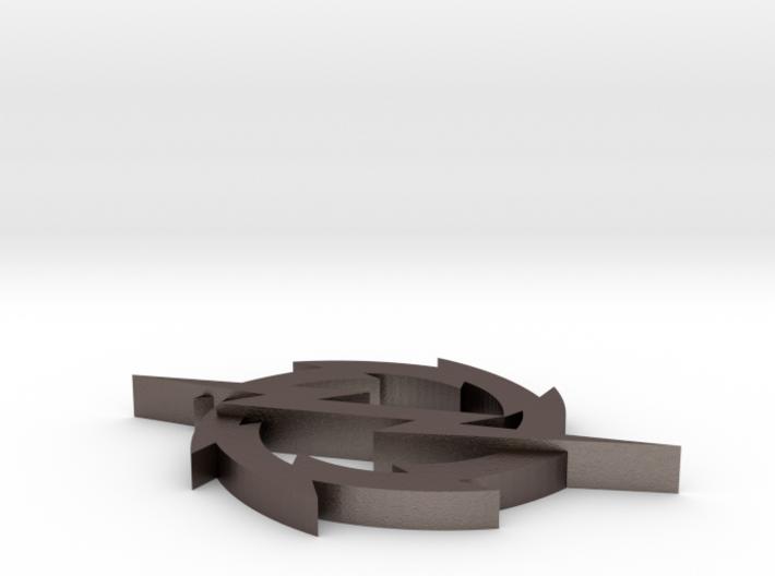 Silver Wheel 3d printed