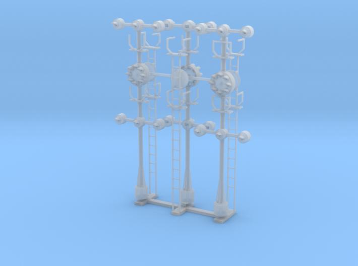 B&O CPL Multi - HO 87-1 Scale(3) 3d printed