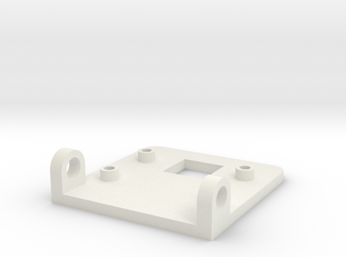 Raspberry Pi Camera Mounting Bracket 3d printed