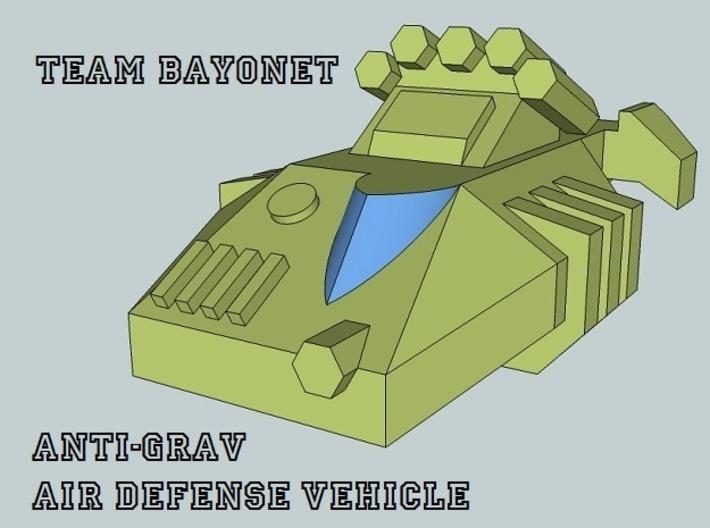 """Team Bayonet"" 3mm Anti-Grav Task Force (44pcs) 3d printed"