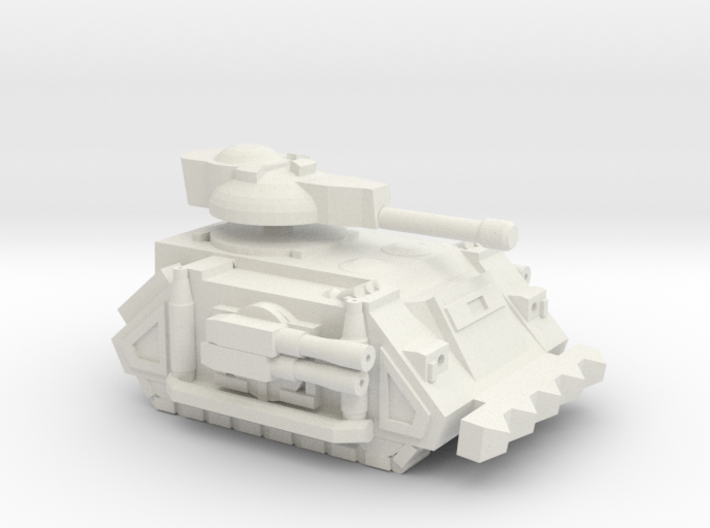Super Soldier Tank 3d printed