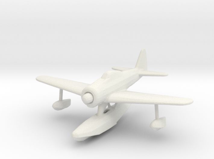 Nakajima A6M2-N 'Rufe' 3d printed