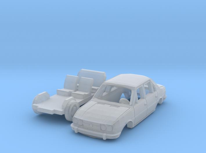 Skoda 120 LS (N 1:160) 3d printed