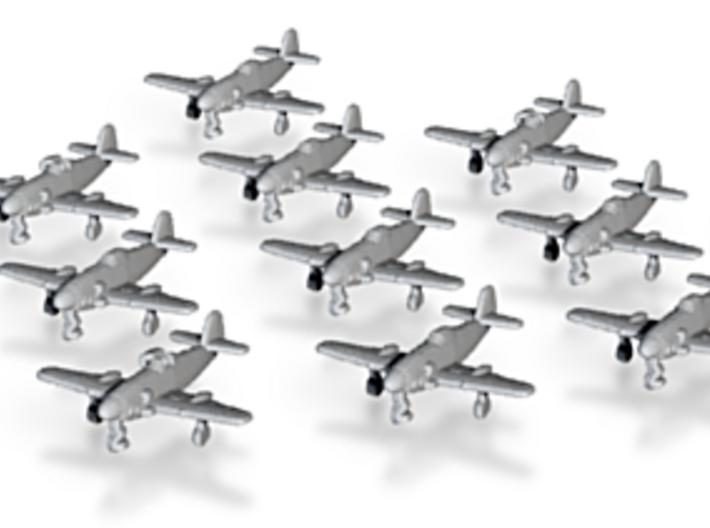 Messerschmitt Me 309 Wheels Down 1:1250 x12 3d printed