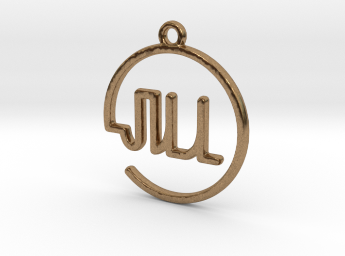 JILL First Name Pendant 3d printed
