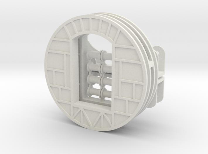 N Wood Chip Rotary Dumper WSP Parts 3d printed
