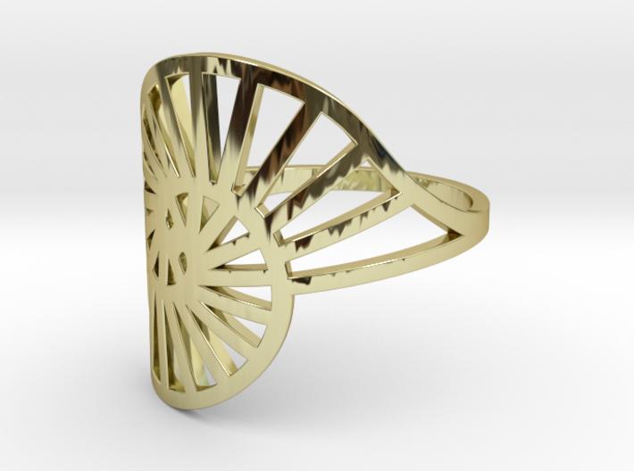 Nautilus Ring Size 10 3d printed